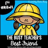 The Busy Teacher's Best Friend April Edition