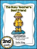 The Busy Teacher's Best Friend April Edition: SECOND GRADE