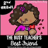 The Busy Teacher's Best Friend February Edition: SECOND GRADE