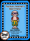 The Busy Teacher's Best Friend May Edition: SECOND GRADE