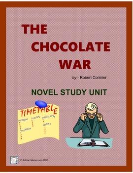 The Chocolate War:  Novel Study Unit
