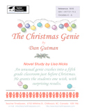 The Christmas Genie by Dan Gutman: Novel study for Grades 4-6