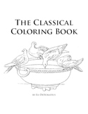 The Classical Coloring Book with Simple Latin Phrases