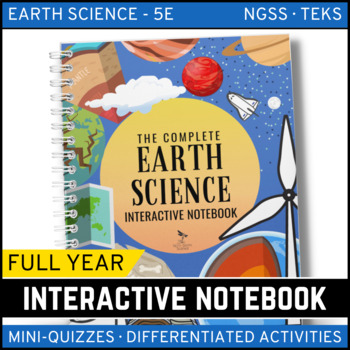 The Complete Earth Science Interactive Notebook - An Entire Year!