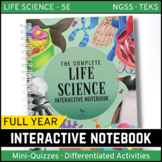 Life Science Interactive Notebook - The COMPLETE Bundle fo