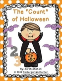 """The """"Count"""" of Halloween - Numbers 1-10 Craftivity"""