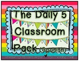 The Daily 5 Classroom Pack Spanish Version