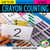 The Day The Crayons Quit: Kindergarten Math Unit