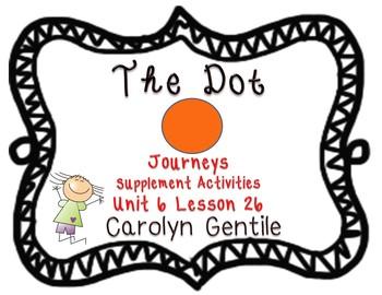 The Dot Journeys Unit 6 Lesson 26 supplement activities