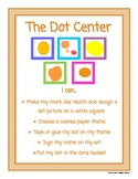 The Dot Library Center Sign