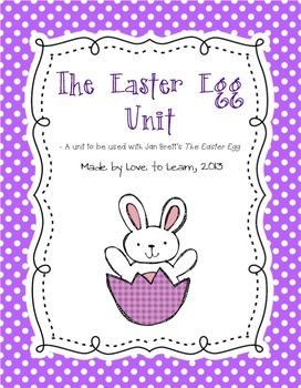 The Easter Egg by Jan Brett Unit - Printable Activities