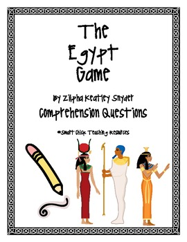 """""""The Egypt Game"""", by Z.K. Snyder, Comprehension Questions"""
