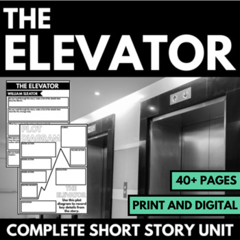 The Elevator by William Sleator: Short Story Unit Resource