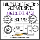 The English Teacher's Ultimate Binder {High School Plain E