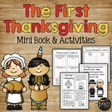 The FIRST THANKSGIVING Mini Book, Class Book, Sequencing,