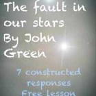 Free The Fault in our Stars: 7 Constructed Responses