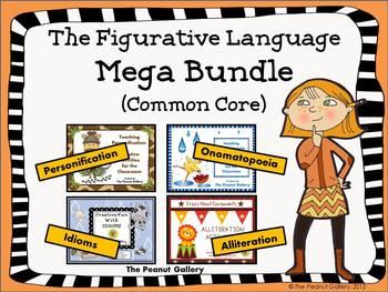 The Figurative Language Mega Bundle (Common Core)