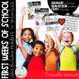 The First Week of School Activity Fun {activities for the
