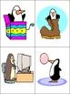 The Funny Penguins- Winter Kindergarten Pocket Chart to Ac