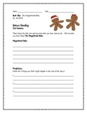 The Gingerbread Baby Comprehension Guide