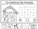 """""""The Gingerbread Boy"""" Sequencing FREEBIE"""