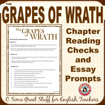 The Grapes of Wrath Essay   WriteMyEssay4Me