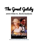 The Great Gatsby Movie vs. Book Worksheet
