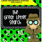 Letter Recognition Activity- The Great Letter Search
