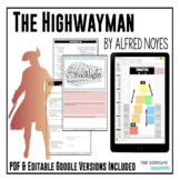 """""""The Highwayman"""" by Alfred Noyes - Poetry Analysis Unit"""