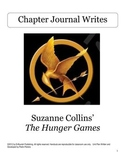 The Hunger Games Journal Unit Plan w/ 27 Journal Writes