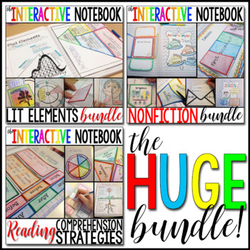 The Interactive Notebook - The HUGE Bundle!