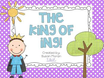 The King of ING! {a freebie}