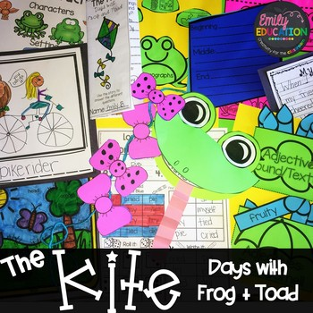 The Kite from Days with Frog and Toad 1st grade Lesson 28