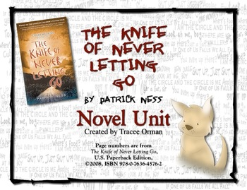 The Knife of Never Letting Go Novel Unit Common Core Aligned