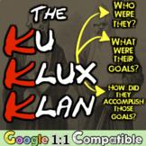 The Ku Klux Klan: Students investigate an American Terrori