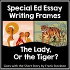 Lady or the Tiger? Essay w/ Rubric by Nouvelle | Teachers Pay