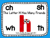 DIGRAPHS The Letter H Has Many Friends Mini Video Fun