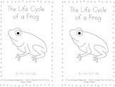 The Life Cycle of a Frog Book