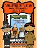 The Magic Tree House #27 - Thanksgiving on Thursday