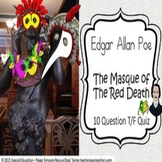 The Masque of the Red Death Edgar Allan Poe Quiz Special E