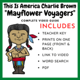 The Mayflower Voyagers Video Guide (Teacher Created)