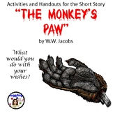 The Monkey's Paw - Assorted Handouts and Activities