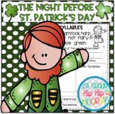 The Night Before St. Patrick's Day...Craft and Activities!!