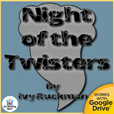 The Night of the Twisters Novel Study CD