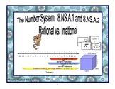 The Number System:  Rational and Irrational Numbers 8.NS.1