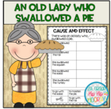 The Old Lady Who Swallowed a Pie...Craft and Literacy Activities!
