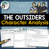 The Outsiders - Character Analysis / Character Sketch