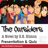 The Outsiders Introduction PowerPoint and Quiz