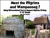 The Pilgrims and Wampanoag Meet the Common Core