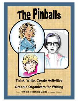 The Pinballs  Think, Write, Create Activities and Graphic